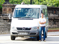 my son Hoi An- mercerders-ben for Private Cars