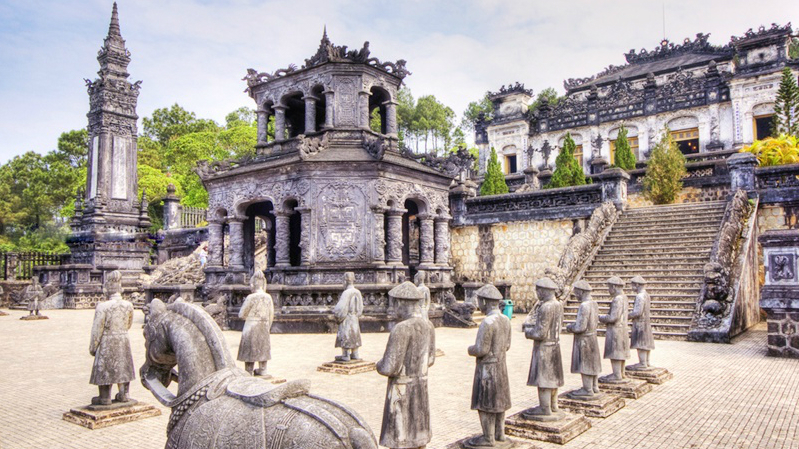 Khai Dinh tomb - hue tombs - Hoi An - Hue - Hoi An 1 day Group Tour