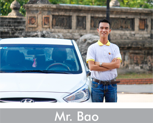 mr bao private car