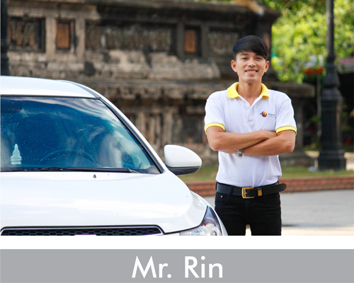 mr rin private car