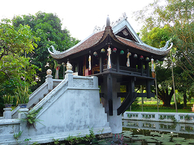 One-pillar-pagoda - Ha Noi city tour