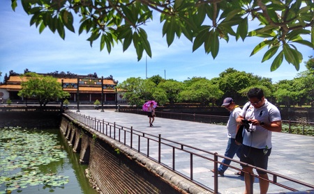 Bridge of Golden Water - Hue City Tour