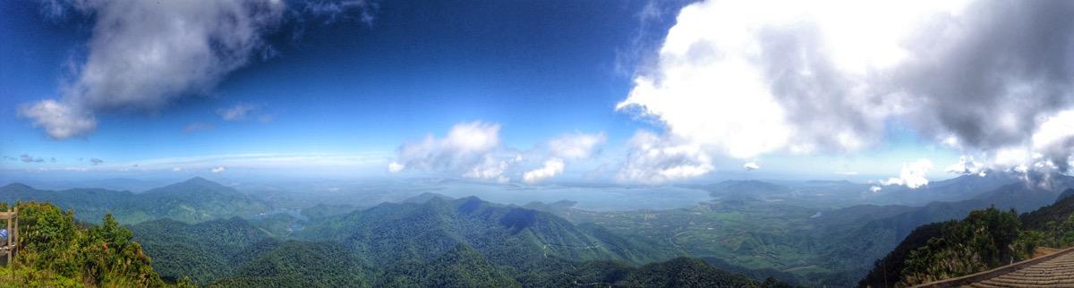 Panorama - Bach Ma National Park Tour