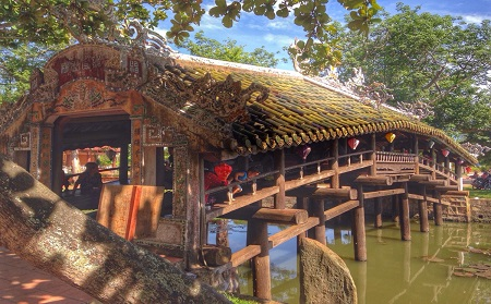 Thanh Toan Bridge - Hue City Tour