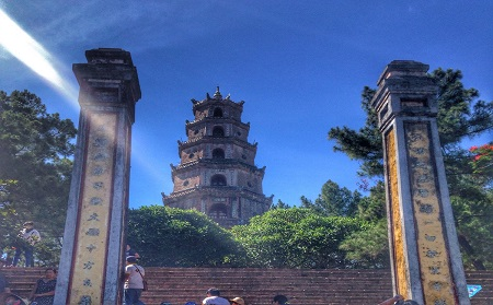 Thien Mu Pagoda - Hue City Tour