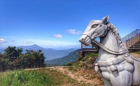 White Horse - Bach Ma National Park Tour