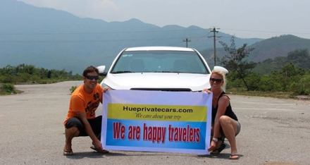 danang to hue by car - hue private car