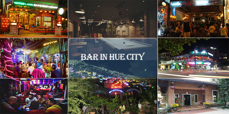 Bar in Hue city