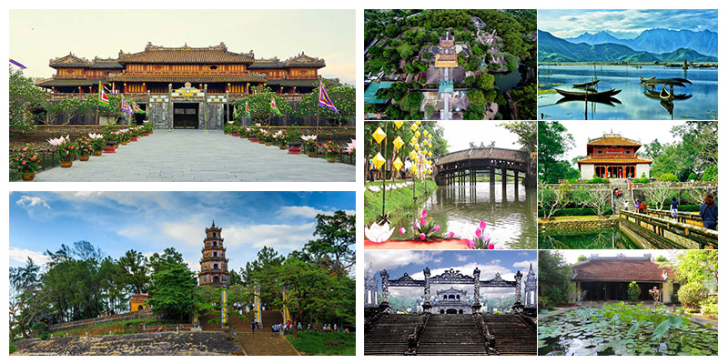 Free and easy tour sample itinerary in Hue city