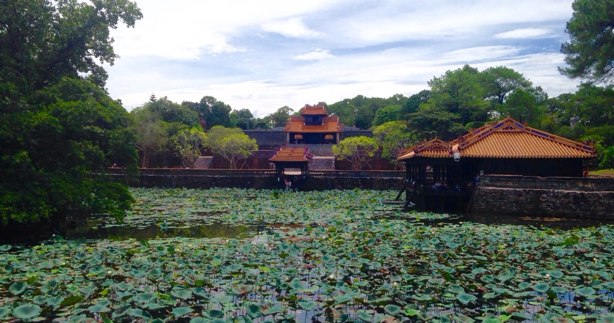 tu duc tomb front view- hue travel guide
