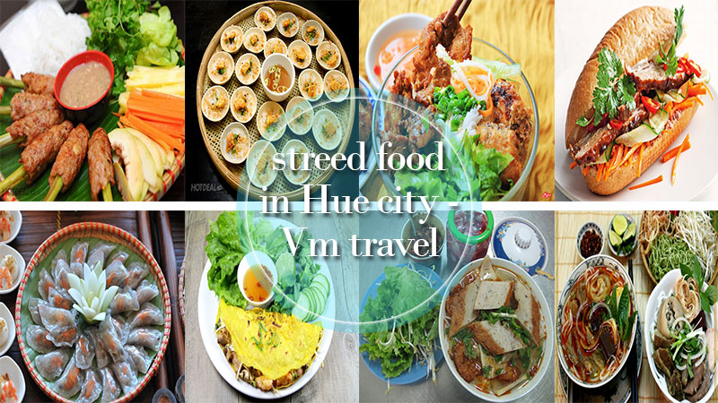 Street food in Hue city
