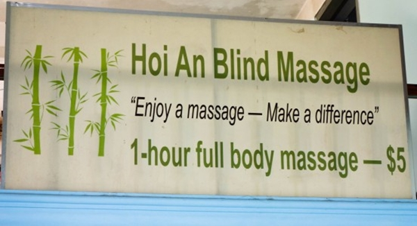 things to do in Hoi An - hue to hoi an - blind massage