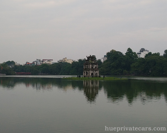 Ha Noi city tour - Hoan Kiem Lake