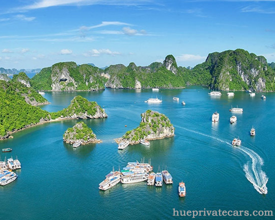 Ha Noi to Ha Long bay by private car - Ha Long Bay