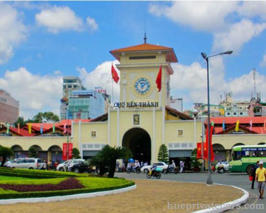 Ho Chi Minh city tour - Ben Thanh Market