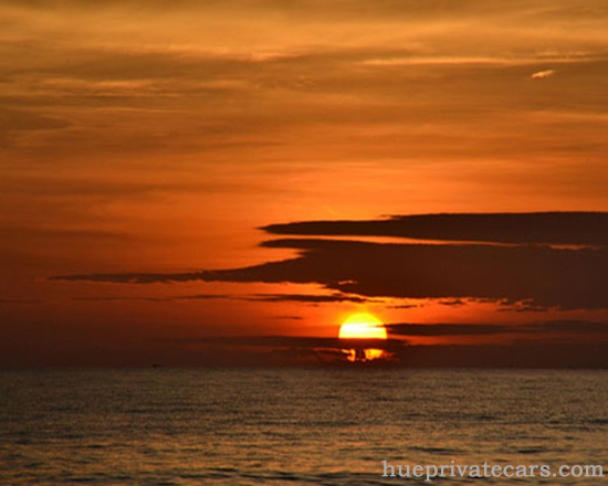 Hue – Thuan An Beach – Hue - Thuan An Beach Sunset