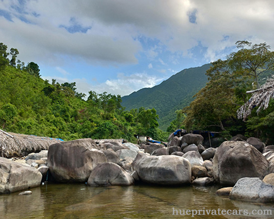 Private Car From Danang to Hue - Elephant Springs