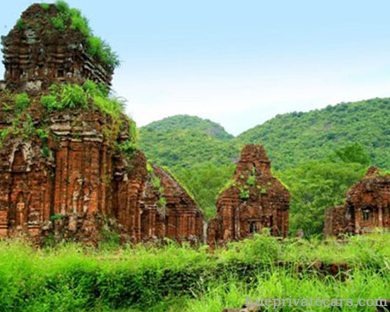 Private Car From Danang to Hue - My Son Sanctuary