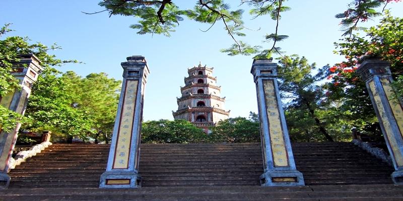 History of Thien Mu Pagoda